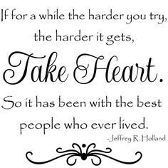 Sometimes the harder you try, the harder it gets.