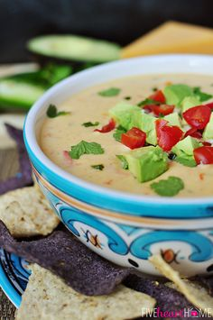 Cheddar and Sour Cream Queso
