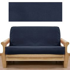 Solid Navy Futon Cover #futons