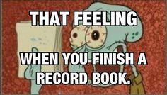The feeling when you finish an FFA record book... whats worse is me and my friends have to restart ours from freshman year and we are juniors