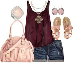 """""""burgundy"""" by sandreamarie on Polyvore"""