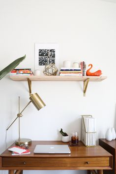 Updated Home Office Tour // Chelsea-Bird.com