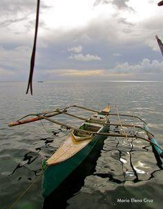 Small boat. Guiuan, Eastern Samar, Philippines.