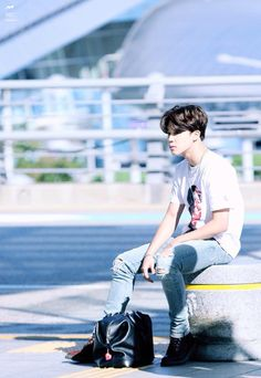 Park Jimin ... Well that's one way to hurt my heart, just show me a picture of perfection jeez