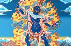 Ekajati is believed to be the most powerful goddess in the Vajrayana pantheon and listening to the Ekajati Mantra (Blue Tara Mantra) destroys all obstacles.
