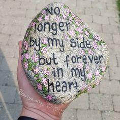 #stenkunst #malpåsten #minesten #kreativ #myhome #rockart #stonepainting #rockart #posca #akryl #molotow #rip #angel #missyouu #savn #sorg #entanke