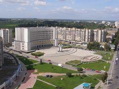 Київська площа.Державна адміністрація.Луцьк