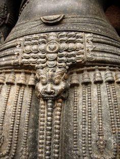 Detail of Surya's belt, Konarak, Odisha