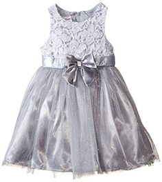 Nannette Little Girls' Dress Lace Top with Glitter Tulle Skirt, Gray, 2T Nannette http://www.amazon.com/dp/B0114IINYQ/ref=cm_sw_r_pi_dp_rdgLwb13BSDCP
