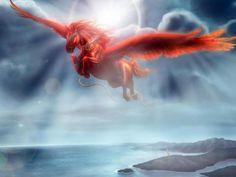 Pegasus soring through the sky!!!! oooooh