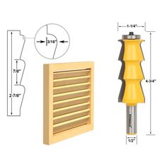 Cheap tenon cutter, Buy Quality woodworking cutter directly from China router bit Suppliers: Louver Shutter Style Router Bit - Shank door knife Woodworking cutter Tenon Cutter for Woodworking Tools Woodworking Router Bits, Woodworking Jig Plans, Learn Woodworking, Woodworking Supplies, Easy Woodworking Projects, Woodworking Techniques, Woodworking Equipment, Woodworking Essentials, Wooden Shutters