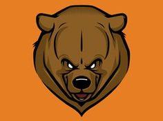 Dribbble - Bear WIP by Dermot Reddan