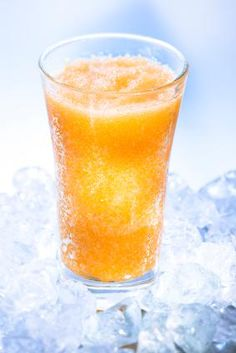 Fuzzy Navel Slush ... great to have in the freezer for a backyard party in the summer.  We will usually throw in some fresh or frozen peaches too ... (and go heavier on the peach schnapps!)