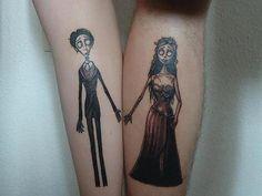 Imagen de tattoo, corpse bride, and tim burton