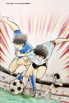 Captain Tsubasa, Dragon Ball, Manga Anime, Anime Art, Final Fantasy Vii, Cartoon Kids, Dream Team, Sasuke, Cartoon Network