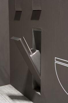 Edelstahl-Toilettenbürste SESAMO by Arkimera ANTONIO LUPI