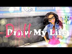 by request: This is our MOST REQUESTED vid! Our Fabsome Fans have been asking Froggy to make a Draw My Life video for years now . Doll Clothes Barbie, Barbie Dolls, Barbie Stuff, Doll Crafts, Diy Doll, My Froggy Stuff Videos, My Life Doll Stuff, Disney Descendants Dolls, Myfroggystuff