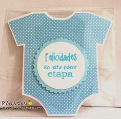 Tarjeta de Felicitación para el nacimiento de un bebé.
