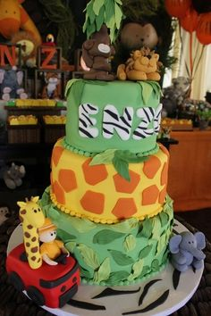 """Photo 1 of 23: Jungle Safari / Birthday """"J is for JUNGLE!!"""" 