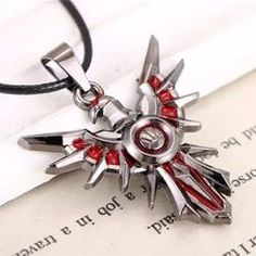 League of Legends Iron Solari Leona Shield Necklace - Mythical Merch