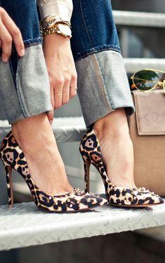 Seguici hermans lo stile è la veste del pensiero Leopard Animalier Chic fashion glamour