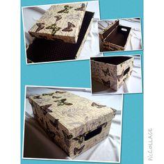Caixa Borboletas Sóbrio   www.munayartes.com