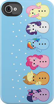 My Little Pony Snow Ponies iPhone Case hehehe Mlp, Snow Pony, My Little Pony Princess, Iphone Accessories, Iphone Case Covers, Iphone 7, Nerdy, Hello Kitty, Geek Stuff