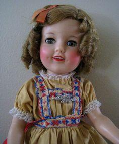 Ideal Shirley Temple Heidi Doll, ca 1959