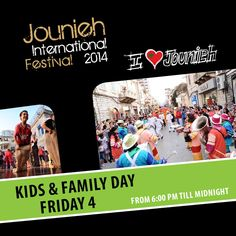 #jounieh #international #festival #kids & #Family #Day Friday 4  #Fun #love #play #kids #Summer #Friends