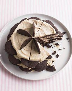 Recetas de Chocolate: Chocolate Recetas de la galleta de la oblea - Martha Stewart