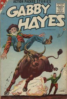 Gabby Hayes, Charlton...Dick Giordano, cover art.