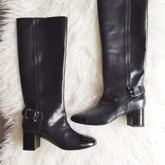 Chanel Boots Authentic. Brand new. Final sale. Pls ask questions before purchasing. CHANEL Shoes
