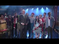 The Cast of Godspell on The Late Show with David Letterman - YouTube