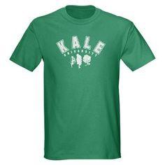 Kale University White T-Shirt Vegetarian, Vegan, Healthy Diet, Juicer, Juicing, Juicing Recipes, Vegatables, Crossfit