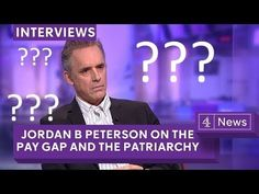 Jordan Peterson debate on the gender pay gap myth, campus protests and postmodernism