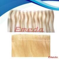 pu skin weft Wholesale price popular and useful brazilian adhensive tape hair PU hair extensions *Hair type:100% high quality human hair *Hair Length:any hair length available *Hair Color:any hair color available *Hair Texture:any hair texture available http://www.emedahair.com