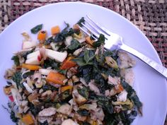 Winter Veggie Power Salad