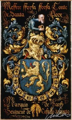 Armorial plates from the Order of the Golden Fleece - Lukas de Heere - Sint Baafskathedraal Gent Medieval, Plantagenet, Chivalry, Banner, Family Crest, European History, Crests, Illuminated Manuscript, Coat Of Arms