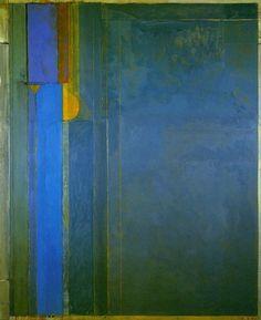Richard Diebenkorn.  Untitled blue