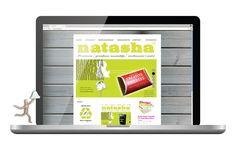 Natasha Design -verkkosivuston visuaalinen ilme ja tuotanto. © Natasha Varis, 2010. – http://natashadesign.fi/