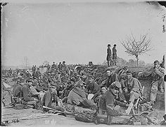 In the trenches before Petersburg, Va, ca. 1860 - ca. 1865