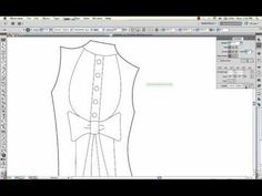 How to Create a Technical Sketch from a Paper Sketch in Adobe Illustrator - YouTube