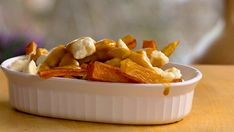 Poutine, Solution Gourmande, Fries, Sauce, Kitchen, Recipes, Pizza, Food, Cooking Recipes