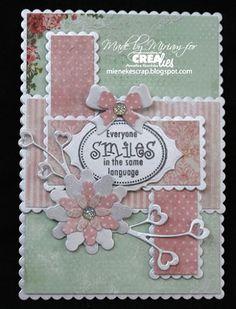 Miriam is weer aan het werk gegaan met de nieuwe schulpranden: https://www.crealies.nl/detail/1777957/17-02-10-miriam.htm &  http://crealies.blogspot.nl/2017/02/everyone.html  Crealies stansen/dies: Crea-Nest-Lies XXL No.10 Crea-Nest-Lies XXL No.26 Crea-Nest-Lies XXL No.56 Set of 3 No.25 Set of 3 No.41 Duo Dies No.34a  Crealies stempels/stamps Mooi gezegd No.02