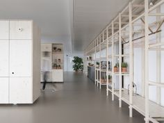 Image 1 of 19 from gallery of Out Of Office Munich / VON M. Photograph by Dennis Mueller Office Fit Out, Cool Office, Office Ideas, Interior Fit Out, Interior And Exterior, Munich, Workplace Design, Modular Furniture, Interior Decorating