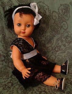 Vintage-adorable-Italian-doll-FURGA-ITALY-40cm-15-7-1960s