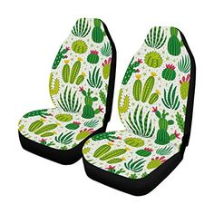 Interestprint provide a wide variety of car seat covers. Our beautifully designed seat covers make your life more easier Fancy Cars, Cute Cars, Cool Car Accessories, Truck Accesories, Accessories Online, Car Seat Cushion, Van Car, Dog Car Seats, Desert Plants