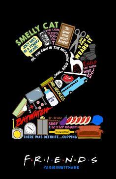 Friends Season 2 Collage