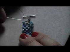 Kelly from Off the Beaded Path Bead Store, in Forest City, North Carolina brings part 2 of the 2 drop peyote stitch bracelet.