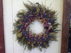 Beautidul natural herb wreath